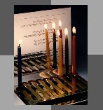 Matchbox Hanukah Lamp