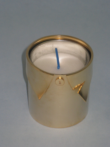 Yahrtzeit candle cover